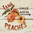 Pêches - Fresh Peaches Reproduction d'art par David Carter Brown