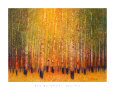 Aspen Glow Art Print by Gary Max Collins