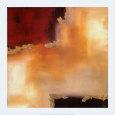 Crimson Accent II Kunsttryk af Laurie Maitland