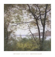 Lakeside Trees I Art Print by John Folchi