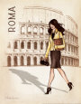Roma Art Print by Andrea Laliberte