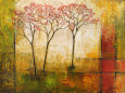 Morning Luster II Kunsttryk af Mike Klung