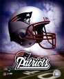 New England Patriots, casco con logotipo ©Photofile Fotografía