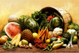 Fruit and Vegetables Plakat