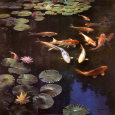 Ponds (Decorative Art) Posters