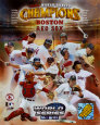 Boston Red Sox 2004 World Series Champions Composite Photographie