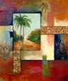 Palm Serenity II Kunsttryk af Judeen