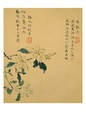 Flowers, from an Album of Ten Leaves Giclée-tryk af Zhou Xianji