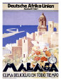 Malaga Giclée-tryk af Landi