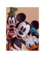 Mickey, Donald, and Goofy: Friends Forever Kunsttryk