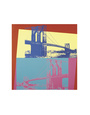 Brooklyn Bridge, 1983 Art Print by Andy Warhol