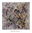 Number 18, 1950 Kunsttryk af Jackson Pollock