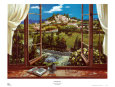 Montecatini View Art Print by Dante Lorenzo