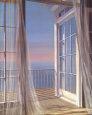 Sea Breeze I Kunsttryk af Carol Saxe