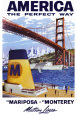 America - Matson Lines Plakat