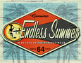 Endless Summer: authentique Plaque en mtal