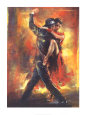 Tango argentin Reproduction d'art par Pedro Alvarez