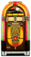 Wurlitzer Jukebox v živontní velikosti, stojící poutače Poutače se stojící postavou