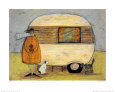 Home from Home Art Print by Sam Toft