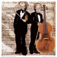 Double Musician Art Print by Troy