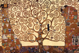 Hayat Ağacı, Stoclet Frizi, c.1909 Sanatsal Reprodüksiyon ilâ Gustav Klimt