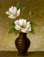 Flowering Magnolia Art Print by Charles Gaul
