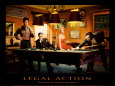Legal Action Art Print by Chris Consani