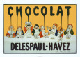 Chocolate (Vintage Art) Posters