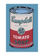Campbell's Soup Can, 1965 (Pink and Red) Art Print by Andy Warhol