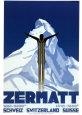 Zermatt Kunsttryk af Pierre Kramer