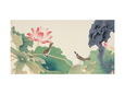 Lotus and Birds reproduction procédé giclée par Hsi-Tsun Chang
