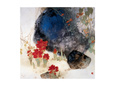 Plants by the Rocks reproduction procédé giclée par Minrong Wu