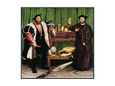 The Ambassadors, 1533 Gicle-Druck von Hans Holbein the Younger