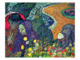 Memory of the Garden at Etten (van Gogh) Posters
