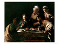 Supper at Emmaus, 1606 Giclée-Druck von Caravaggio