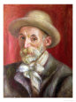 Self Portrait, 1910 Giclee Print by Pierre-Auguste Renoir