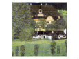 Schloss Kammer Am Attersee II, 1909 reproduction procédé giclée par Gustav Klimt