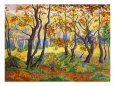 Edge of the Forest Art Print by Paul Ranson