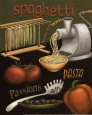 Spaghetti Kunsttryk af Daphne Brissonnet