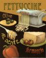 Fettuccine Kunsttryk af Daphne Brissonnet