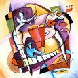 Ved tangenterne Kunsttryk af Alfred Gockel