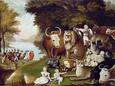 The Peaceable Kingdom Giclee Baskı ilâ Edward Hicks