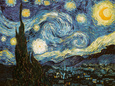 Sternennacht Gicle-Druck von Vincent van Gogh