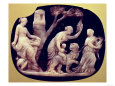 Cameo of the Childhood of Dionysus, 1st Century BC Giclee Print at ...