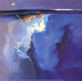 Violet Horizon Kunsttryk af Peter Wileman