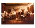 The Declaration of Independence Umělecká reprodukce od John Trumbull
