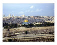 View of Jerusalem from the Mount of Olives Fotografie-Druck von Jim Stanfield