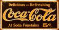 Coca-Cola (plakietki emaliowane) Posters