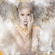 In Truth There Is Love Art Print by Elvira Amrhein