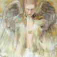 Guardian Angel Kunsttryk af Elvira Amrhein
